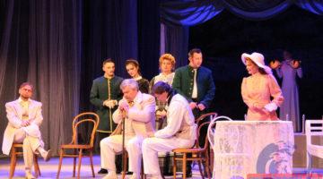 Луганский театр на Оборонной представил новый спектакль по мотивам пьесы Чехова