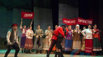Театр на Оборонной представил премьеру музыкальной комедии «Бабий Бунт» (ФОТО)