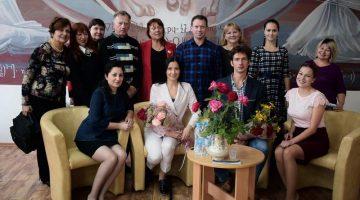 Творческая встреча с артистами Луганского академического украинского музыкально-драматического театра на Оборонной